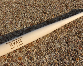Ring Bearer Gift, Personalized Baseball Bat, Baseball Wedding Favor for Usher, Best Man, Birthday Gift, Groomsmen Gift, Jr Groomsman Gift
