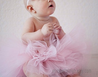 Choose Your Color || The BALLERINA Tutu Set || Short & Sweet Tutu and ballerina flower headband || nb-4T