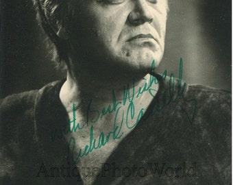 Opera singer Richard Cassilly Siegmund vintage photo