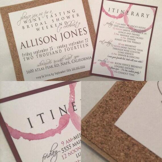 Cork Wedding Invitations: WINE & CORK INVITATIONS By PaperLaneDesign On Etsy