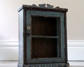 Distressed Rustic Wall Cabinet
