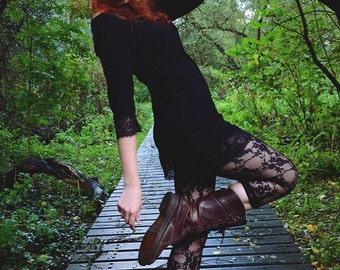 Top Miss Bennet Black  Dark fashion Steampunk Trance