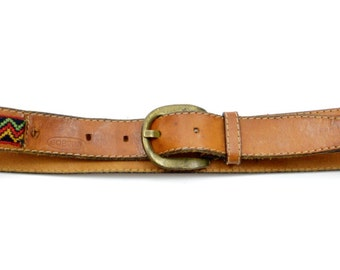 Vintage Robinia Vero Vitelo True Calf italian Belt