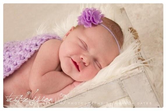 Soft Baby Headbands, Newborn Headband, Baby Headband, Lilac Headband, Baby Girl Headband, Infant Headband, Toddler Headband, headband baby