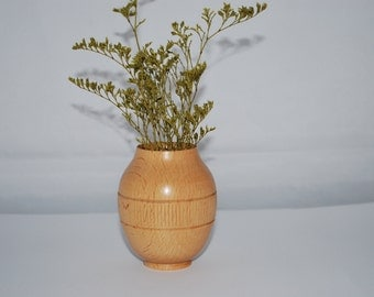 Beech Wood Vase, Small Twig Vase, Home Decor,Handmade, Holiday Gift