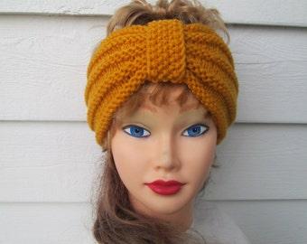 Women's headbands women's turban gold headband Winter Headbands earwarmer turban knit crochet turbans knit headband crochet turban headband
