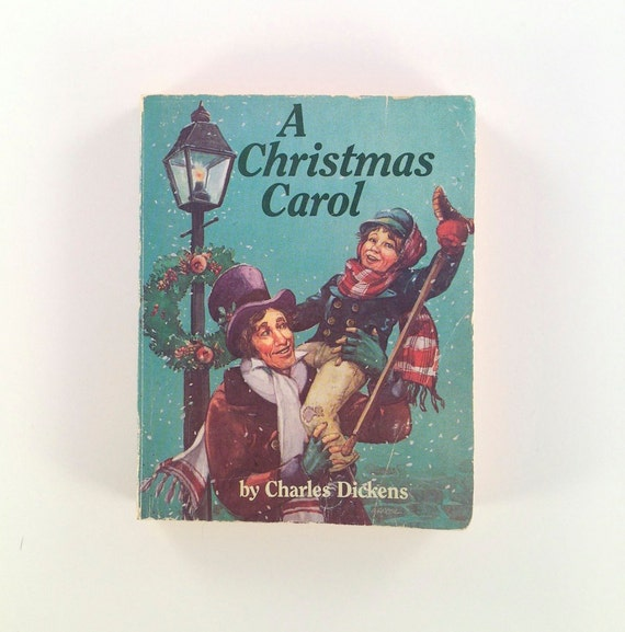 Christmas Carol by Charles Dickens 1970s by AnemoneReadsVintage