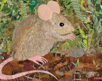 Wood Mouse (Card)