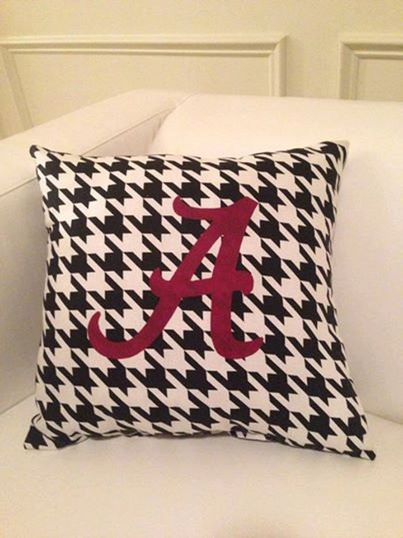 University of Alabama Inspired Throw Pillow by stagedpresents