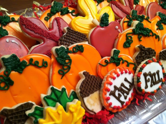 Thanksgiving Fall Cookie Assortment