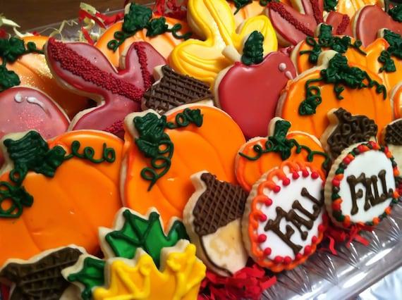 Thanksgiving Fall Cookie Assortment