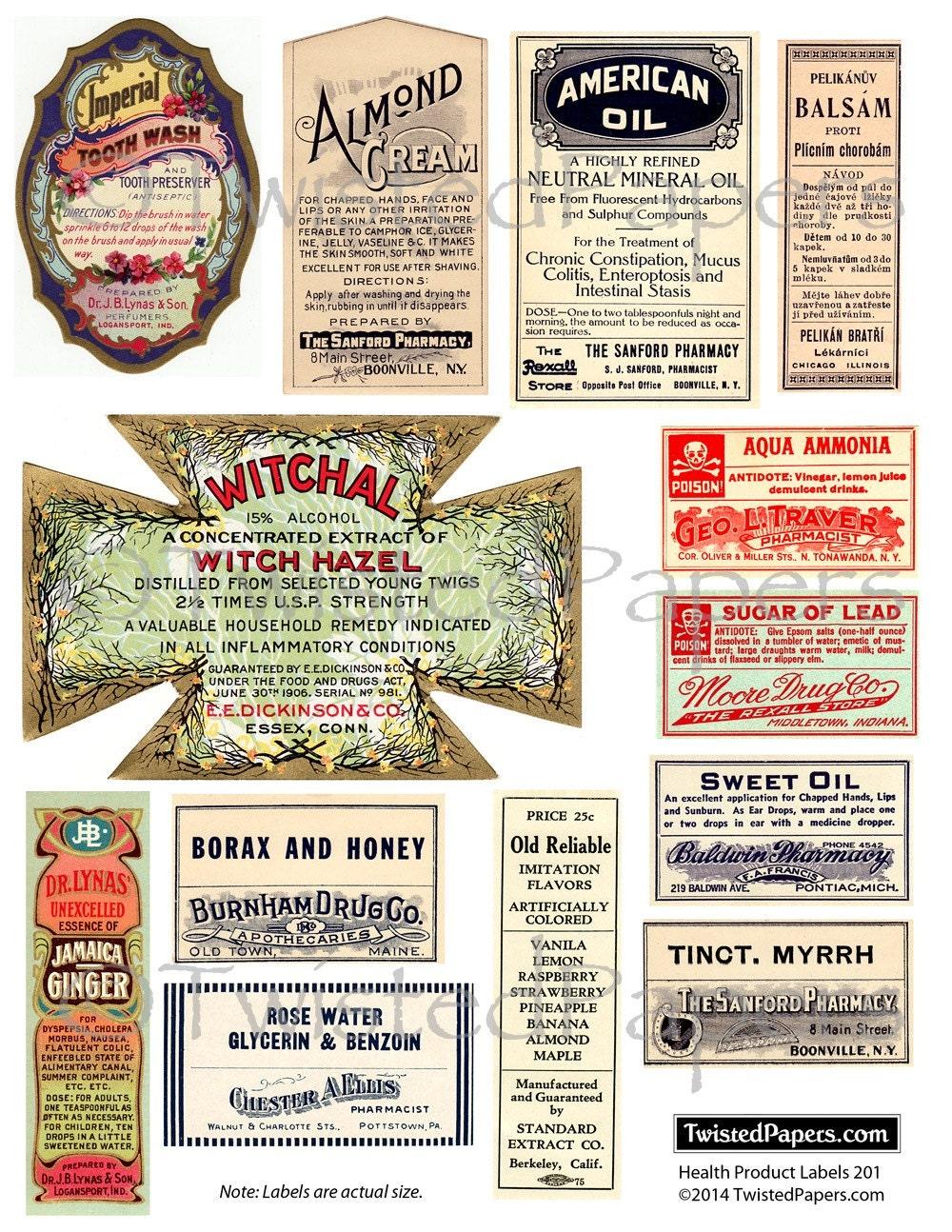 vintage apothecary amp medicine labels drug store labels snake