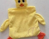 Duck Animal Blanket ITH Embroidery Design with PDF Tutorial
