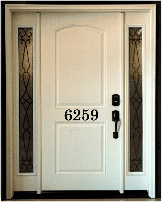 Exterior Door Number Stickers 37 best Front door decals images on