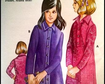 Kwik Sew 354  Girls' Shirt Dress  Ages (8-14)