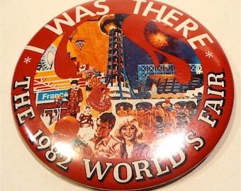 1982 World's Fair Button