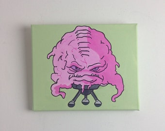 Krang - Ninja Turtles - Hand Painted Painting