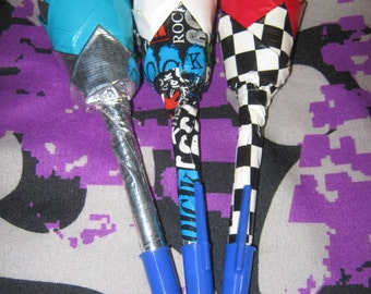 Set of 3 Duct Tape Pens