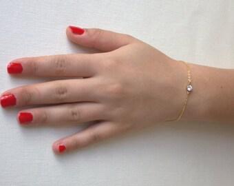 Crystal Gold  Bracelet