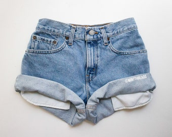 ALL SIZES Vintage Mystery High Waisted Denim Shorts / High Waisted Shorts / All Colors & Styles
