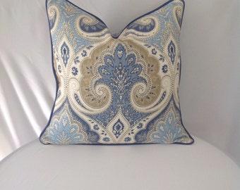 Kravet Latika in the color Delta Pillow Cover