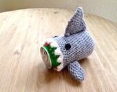 Shark can cozy coaster