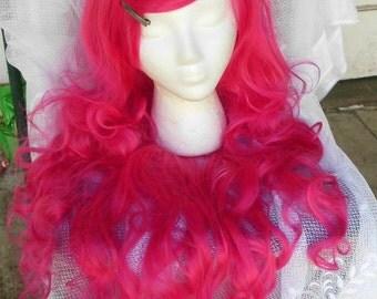 Pinkie Pie Wig MLP Costume Wig My Little Pony Cosplay Burlesque, Unicorn, Pink Pony Wig Sweetie Pie, my little pony cosplay