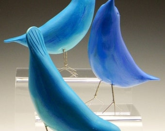 Blue Birds of Happiness.