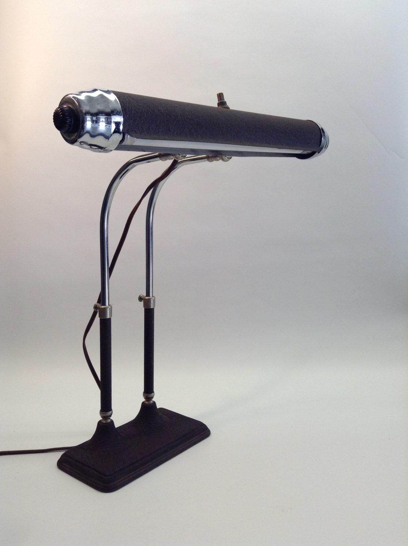 Lamp Vintage Antique Piano Desk Lamp Radionic Trans Co Light