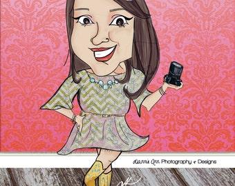 Custom Caricature Illustration