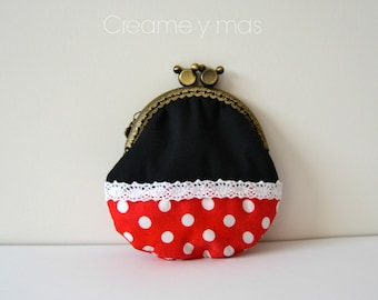Flat Purse (Minnie Mouse Model)