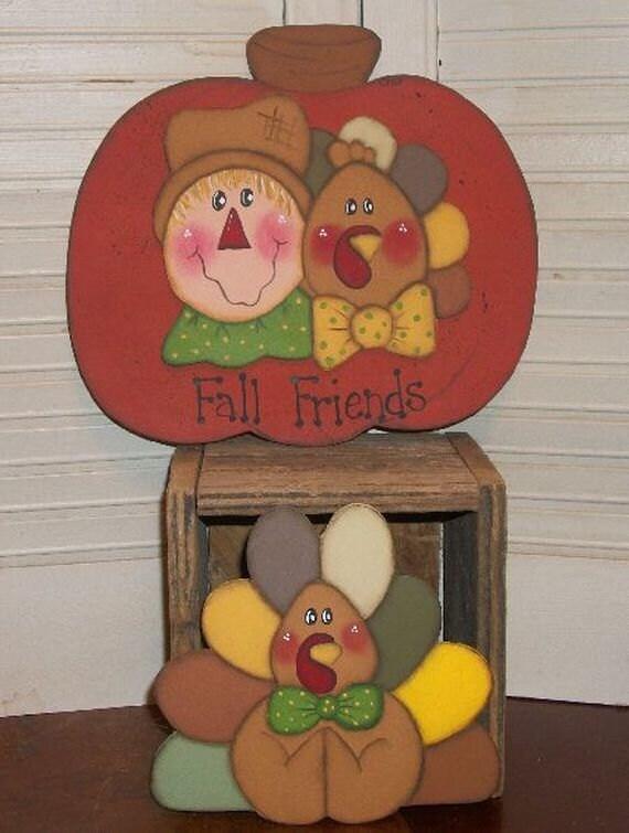 Fall Friends Tole Painting Epattern Fall Design Pumpkin