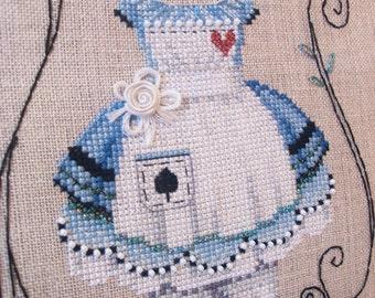 Brooke's Books Dress Up Alice Cross Stitch Chart Only