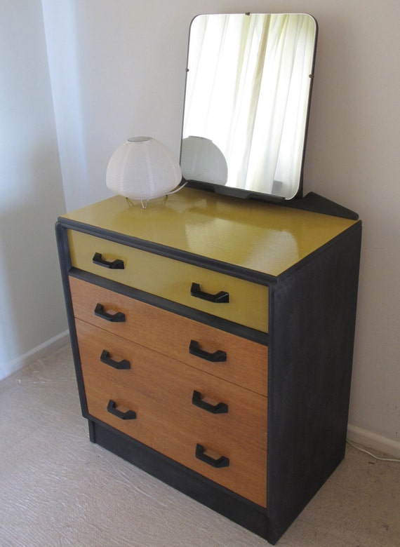 Items similar to upcycled g plan dressing table chest of for G plan bedroom furniture uk