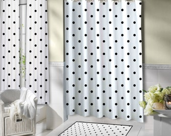 popular items for white shower curtain on etsy. Black Bedroom Furniture Sets. Home Design Ideas
