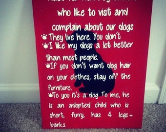 Non Dog Owner Rules - Non Cat Rules - Dog Owner Rules - Dog Rules-