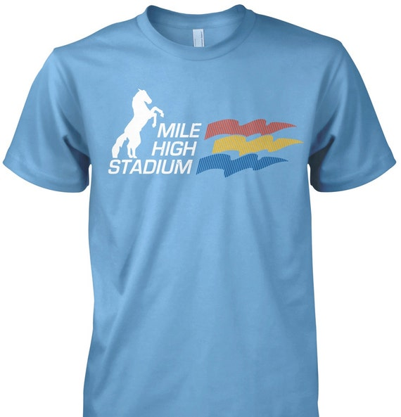 LoyalTee Mile High Stadium T-Shirt - More Colors Available!   FREE SHIPPING on orders of 3 or more LoyalTees!