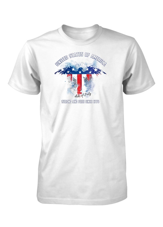 Men 39 S Fourth Of July Independence Day T Shirt America