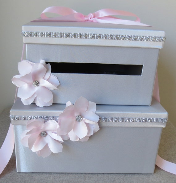 Items similar to Envelope Box Wedding Gift Money Box Wedding Card ...