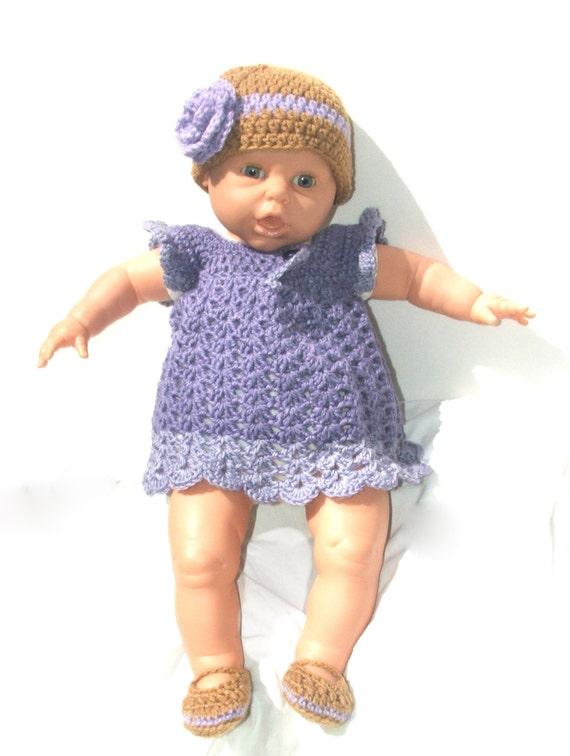 Items similar to Purple baby dress, newborn girl clothes ...