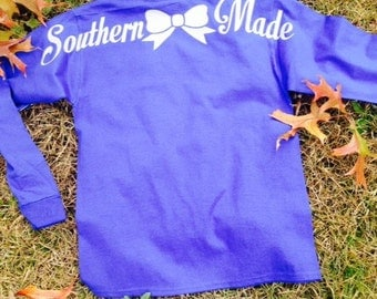 ADULT SIZE!!    Southern Made Long Sleeve Basic T-Shirt