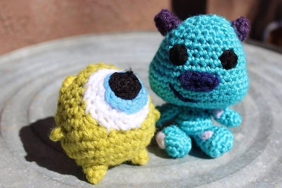 Amigurumi Monsters Inc : baby monsters inc. amigurumi