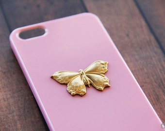 Butterfy iPhone 5s Case Butterfy iPhone 7  Case Butterfies Bug iPhone 5c  S5 iPhone 6 Plus Butterfy Cases Hard Snap Pink Pastel