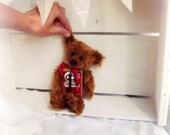Artist Bear | Vintage Paprika Tin Bear