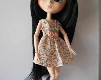 Romantic Dress for Pullip or Blythe Doll