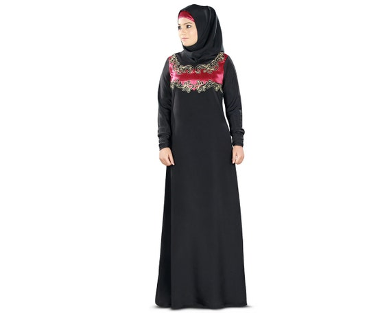 Mybatua islamitische kleding zwarte abaya jilbab mooie for Islamitische sportkleding vrouwen