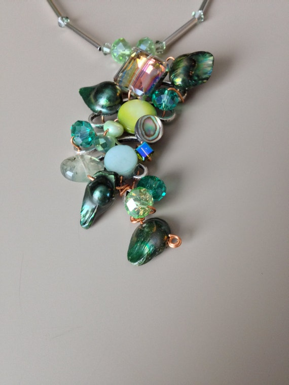 Little Gems by Luisa Necklace on Etsy