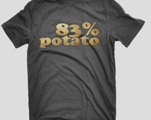 Potato T-shirt Mr Chip Baked Chips DNA Humour