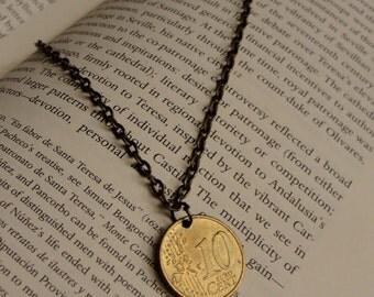 European Coin Necklace