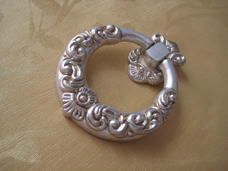 Dresser Knobs Pull Drawer Pulls Knob Handles Drop Ring Antique